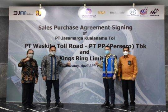 PT PP melepas kepemilikan saham di Tol Medan-Kualanamu-Tebing Tinggi