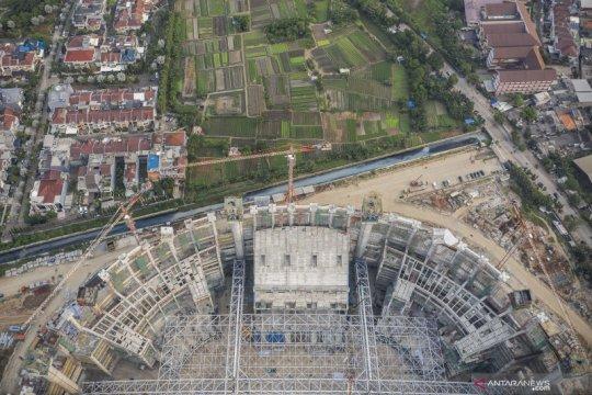 Jakpro: Pengangkatan atap baja JIS pertimbangkan keselamatan warga