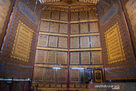 Wisata religi Al Quran raksasa di Palembang
