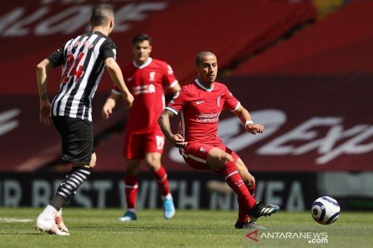 Liverpool harus buktikan pantas tampil di Liga Champions, kata Thiago