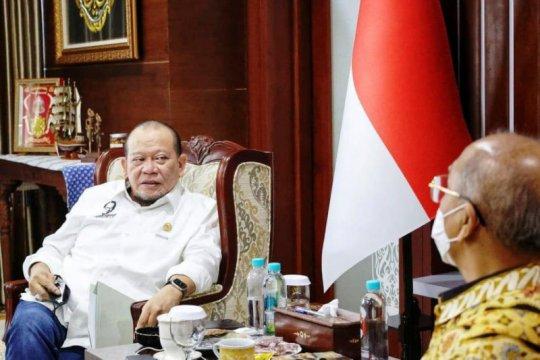 Ketua DPD RI dukung peluncuran kartu nikah digital