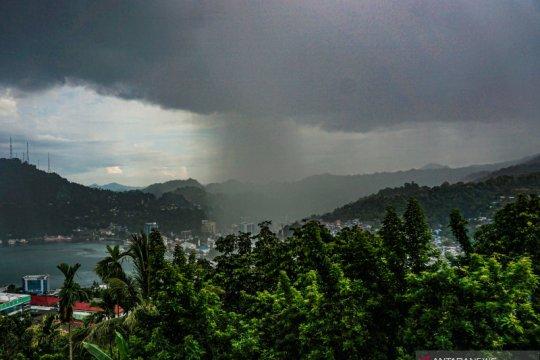 BMKG: Sejumlah daerah diprakirakan alami hujan lebat