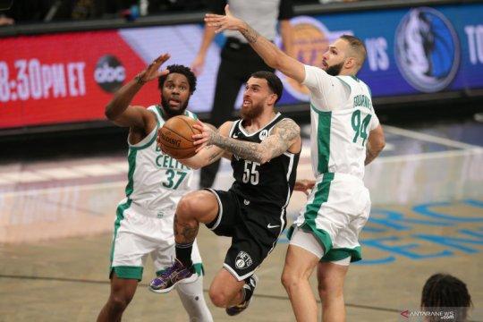 Nets selamat dari gempuran Celtics dan menang 109-104