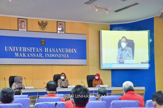 Menko Polhukam diskusi demokrasi dan nomokrasi di Unhas