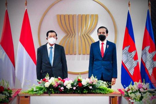 Presiden Jokowi gelar pertemuan bilateral dengan PM Kamboja Hun Sen