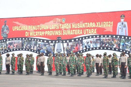 Gubernur Sumut menutup Latsitardanus ke-41 Tahun 2021