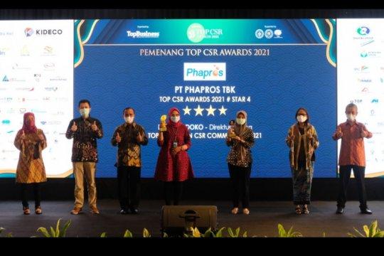 Anak usaha Kimia Farma Phapros raih dua penghargaan TOP CSR Awards