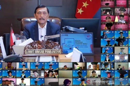 Menteri Luhut minta lulusan UNS tak pelit bagi ilmu