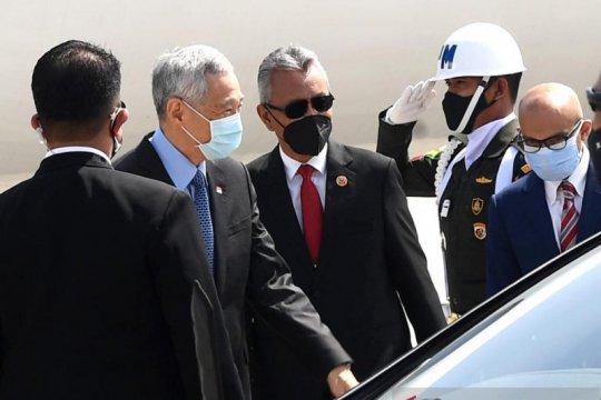 PM Singapura tiba di Indonesia untuk hadiri ASEAN Leaders' Meeting