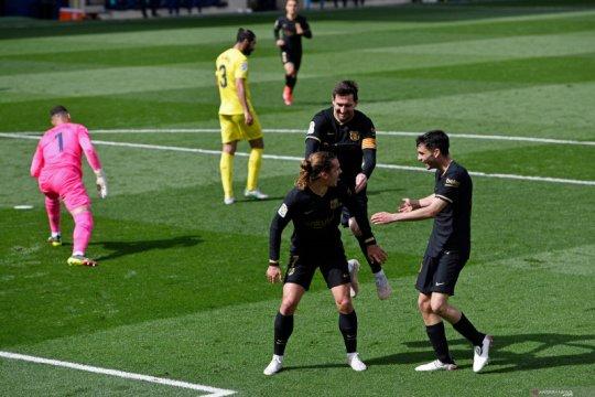 Dua gol Griezmann bawa Barcelona menang atas Villarreal