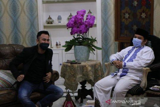 Raffi Ahmad temui Wali Kota Arief bahas kerjasama majukan Persikota