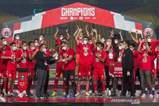 Sudirman bangga membawa Persija juara Piala Menpora 2021
