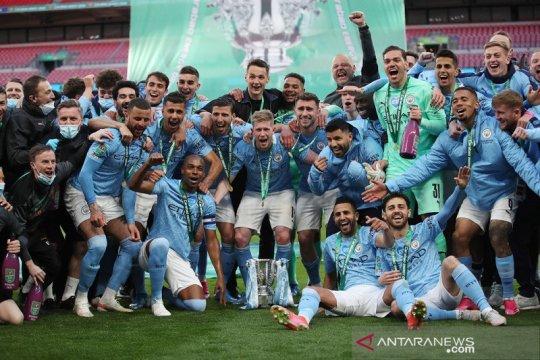 Daftar juara Piala Liga Inggris: Manchester City samai rekor Liverpool