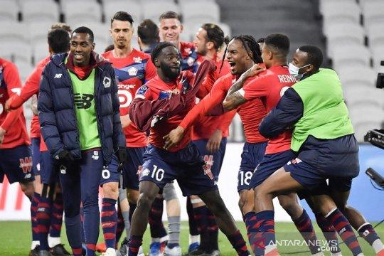 Klasemen Liga Prancis: Lille terus pimpin perebutan juara yang sengit