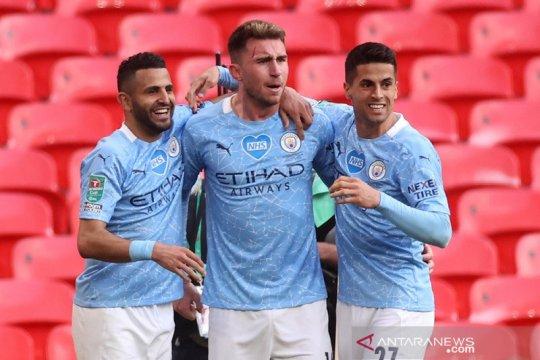 Laporte antar Manchester City juarai Piala Liga empat musim beruntun