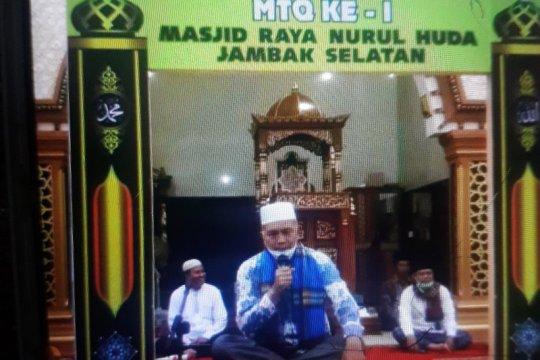 Bupati dan Wabup Pasaman Barat ikut semarakan MTQ tingkat masjid
