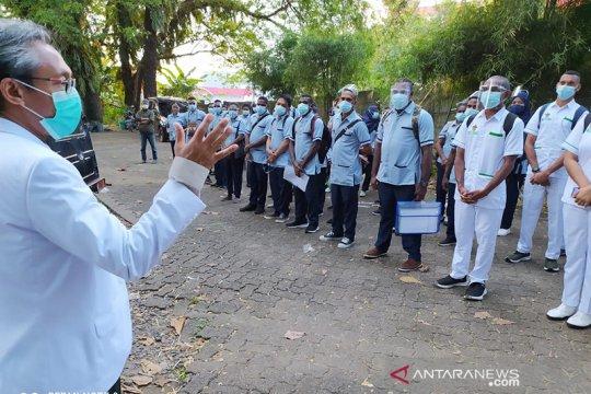 Mahasiswa vokasi kesehatan Asmat praktik klinik di Makassar