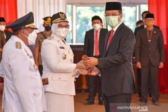 Gubernur NTB resmi lantik H Mahmud Abdullah sebagai Bupati Sumbawa