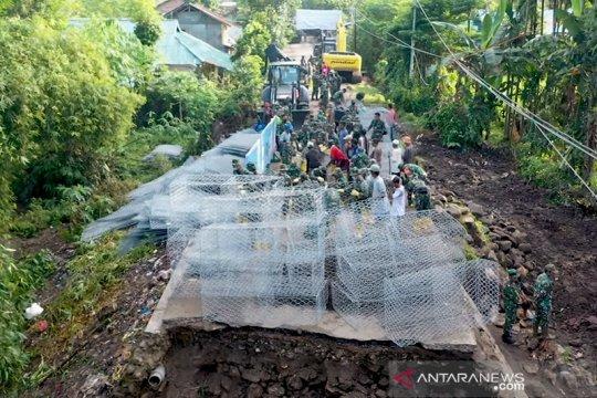 TNI AD buat prioritas pembangunan jembatan rusak akibat bencana di NTB