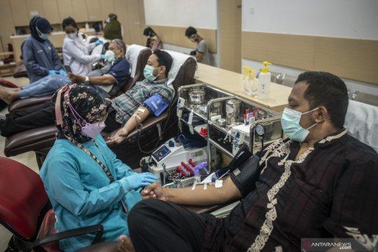 Stok darah di PMI DKI Jakarta berkurang drastis selama bulan Ramadhan di tengah pandemi