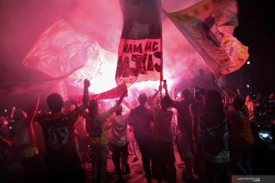 Presiden Persija dicecar 28 pertanyaan oleh penyidik Polda Metro