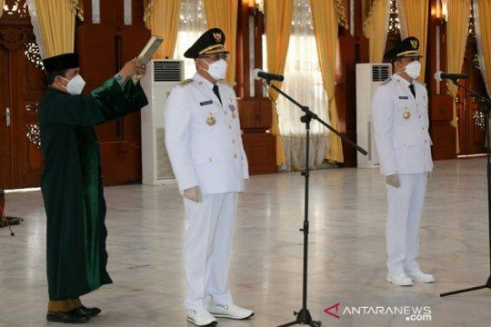 H Sayed Jafar dilantik sebagai Bupati Kotabaru