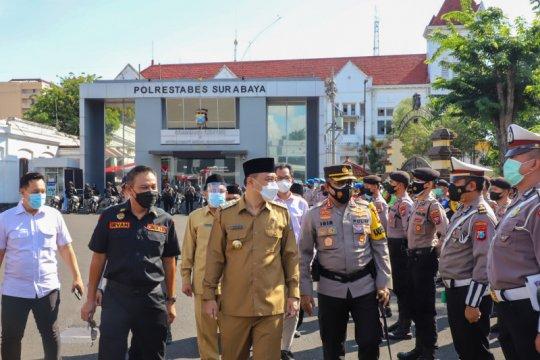 Wali Kota Surabaya minta warganya tahan diri tidak mudik Lebaran