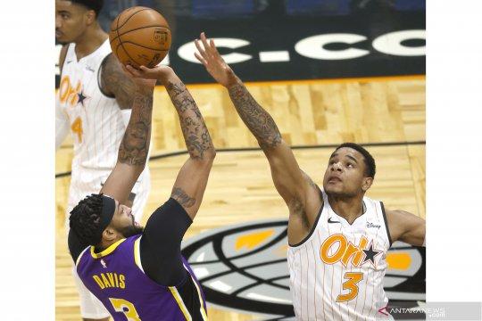 NBA: LA Lakers menang atas Orlando Magic 114 -103