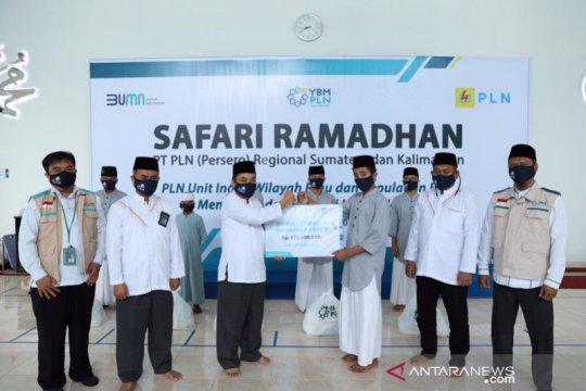PLN salurkan Rp475 juta bantuan Yayasan Baitul Mall