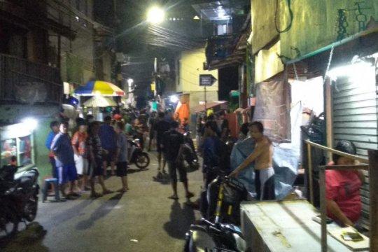 Polrestro Jakarta Barat bubarkan tawuran di Palmerah