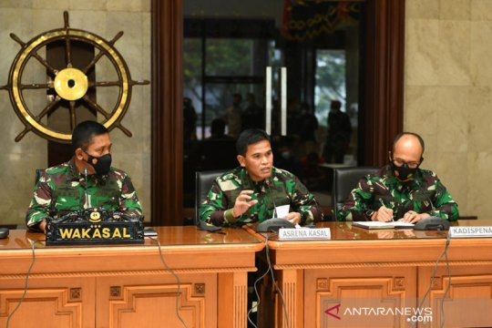 TNI AL berupaya mengevakuasi KRI Nanggala-402 di perairan Bali