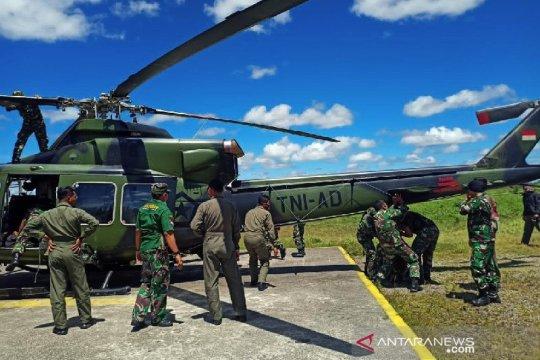 Kapolda: Helikopter sempat tertembak saat evakuasi korban di Ilaga