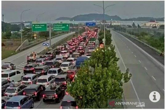 PT HK sebut ada dua titik penyekatan kendaraan di ruas Tol Terpeka
