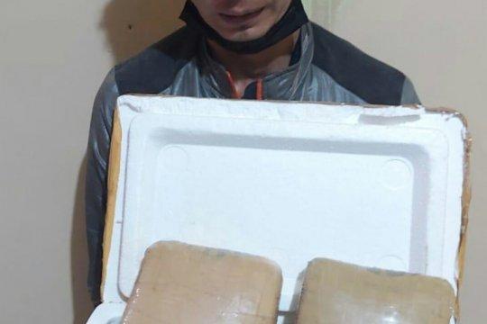 Polisi gagalkan transaksi ganja seberat 4 kilogram