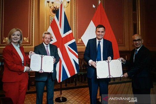 Indonesia, Inggris sepakati MoU tingkatkan perdagangan bilateral