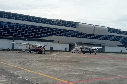 Penerbangan di Bandara Ilaga dibuka kembali Rabu