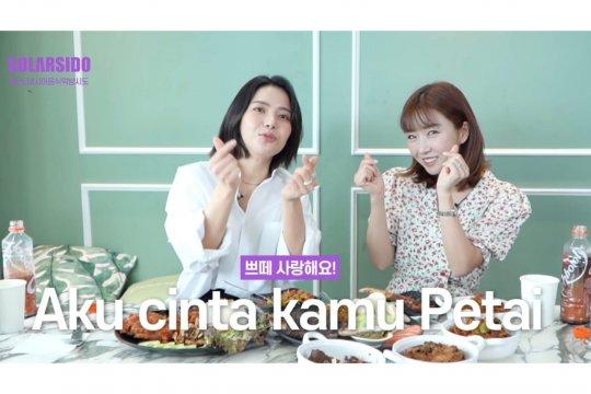 Solar MAMAMOO coba makanan Indonesia, langsung jatuh cinta pada pete