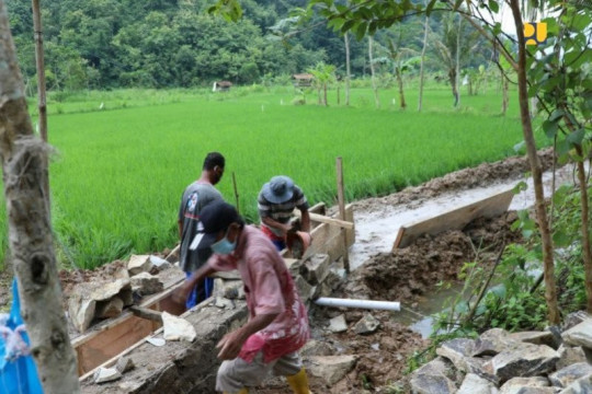 PUPR: Padat karya bidang air serap 122 ribu tenaga kerja per 23 April