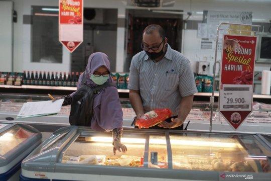 Sidak keamanan makanan di pusat perbelanjaan