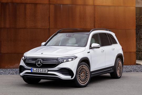 EQB, SUV listrik 7-seaters Mercedes-Benz