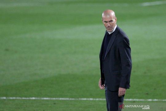 Zidane lega Real Madrid bermain imbang lawan Chelsea