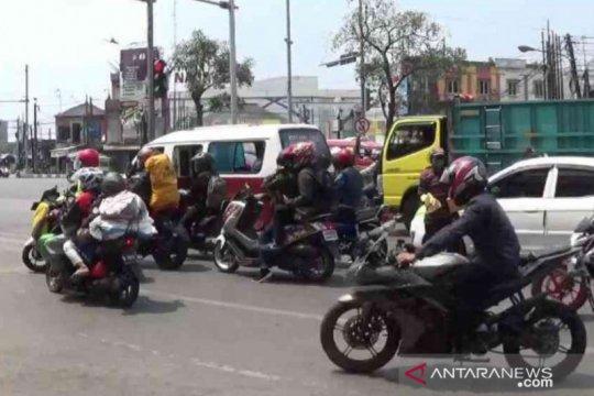 Polres Bekasi perketat penjagaan jalur mudik