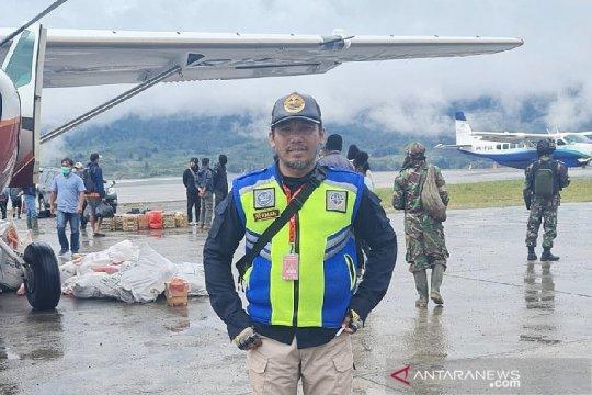 Operasional Bandara Aminggaru Ilaga Papua kembali normal