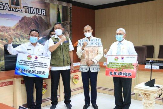 Gubernur NTT imbau para bupati segera salurkan dana tunggu hunian