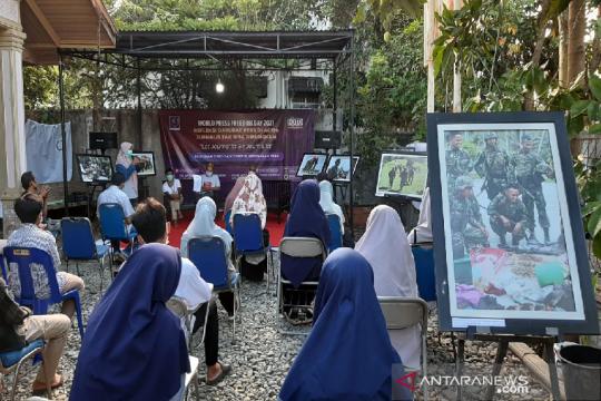 WPFD 2021, AJI dan PFI perlihatkan karya jurnalis saat konflik Aceh