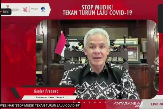 Ganjar Pranowo tegaskan tidak ada pengecualian terkait larangan mudik