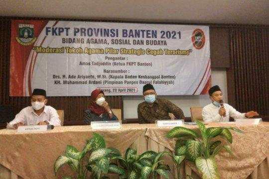 FKPT Banten libatkan tokoh agama cegah terorisme