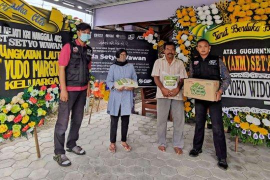 ACT Madiun salurkan bantuan untuk keluarga prajurit KRI Nanggala-402