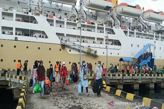 Penumpang Kapal Pelni sudah bisa vaksin di empat pelabuhan ini