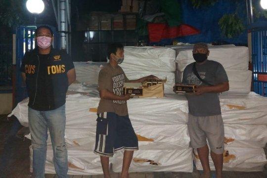 KPPBC Kudus sita 600.000 batang rokok ilegal diangkut truk tronton